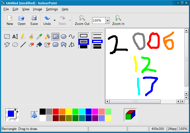 News Kolourpaint The Free Easy To Use Paint Program For Kde