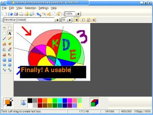 KolourPaint the Paint Program Thumbnail